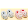 Baby Girls Pink Teddy Bear Booties Babies Slipper Shoes Gift