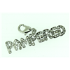Dog Jewellery Diamante Pet Word Charm