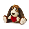 "Baxter Dog 18""with a Red Velvet Heart Valentine Love Gift 39307"