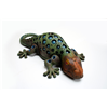 Large Cast Iron Gecko Garden or Indoor T-Light Lantern